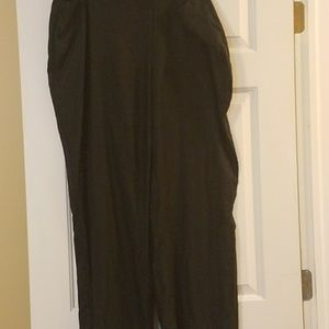 Style & Co Black Linen Pants